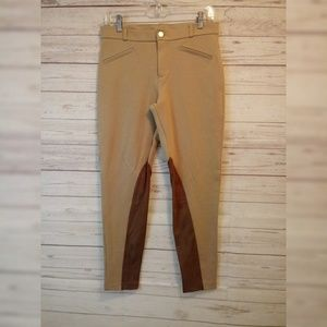Zara Basic Equestrian Pants leggings